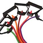 photo of resistance bands